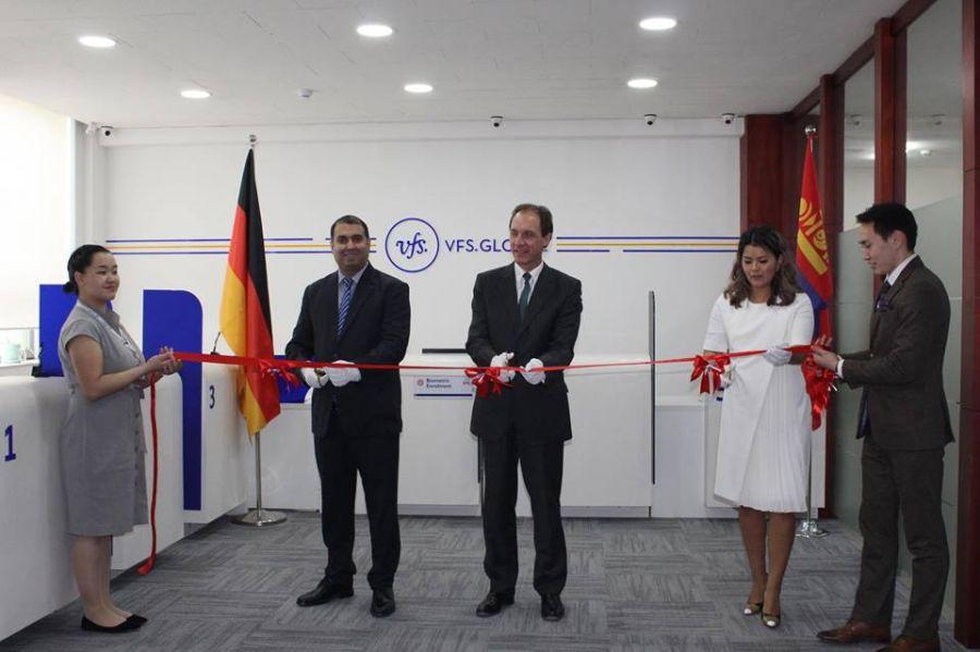 Schengen visa center opens at German Embassy