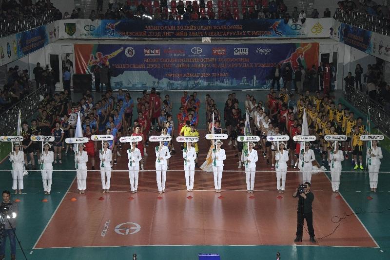 Монголын волейболын холбооны үндэсний дээд лигийн аварга шалгаруулах тэмцээн эхэллээ