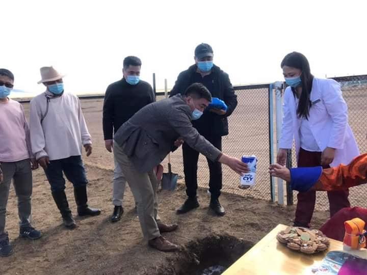 Өлзийт тосгоны эрүүл мэндийн төвийн шинэ барилгын ажил эхэллээ
