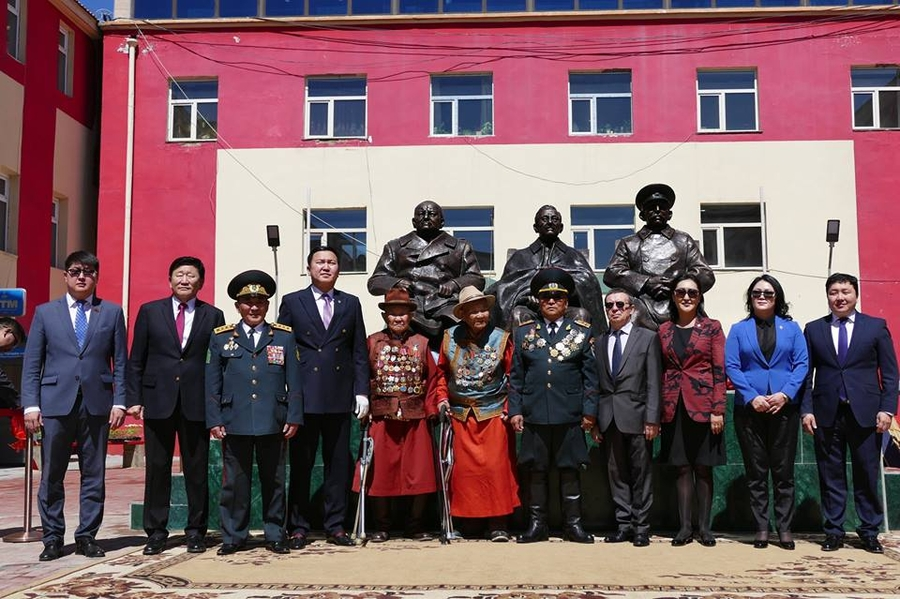 Yalta Conference Monument Inaugurated In Mongolia