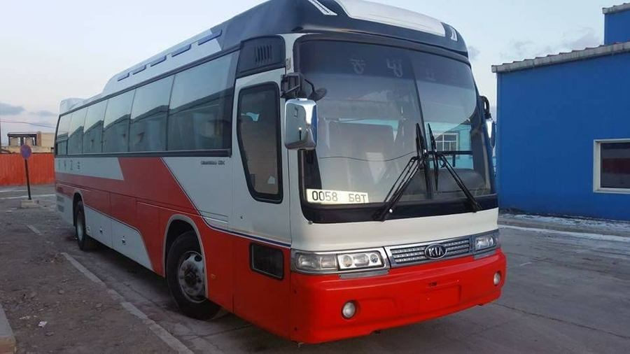 Transport companies in Bayan-Ulgii renew bus garage