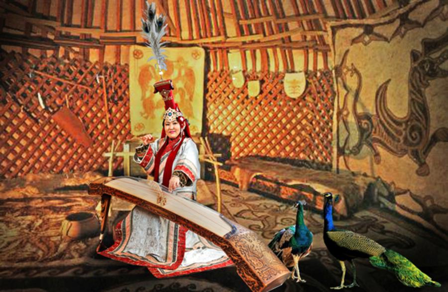 Sound of nomadic Mongolia: folk arts