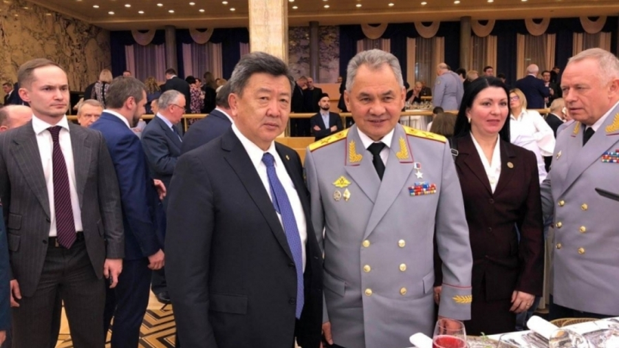 Министр обороны Н.Энхболд встретился со своим коллегой С.К. Шойгу