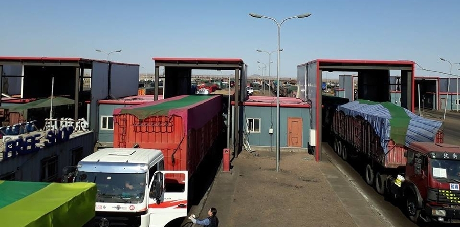 1100 vehicles to cross Gashuun Sukhait border checkpoint daily