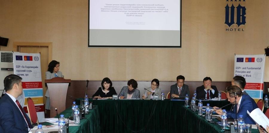 Mongolia – EU – ILO project on labor launched