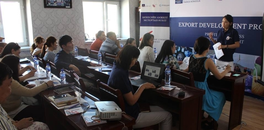 Export development project introduced to SMEs of Arkhangai aimag