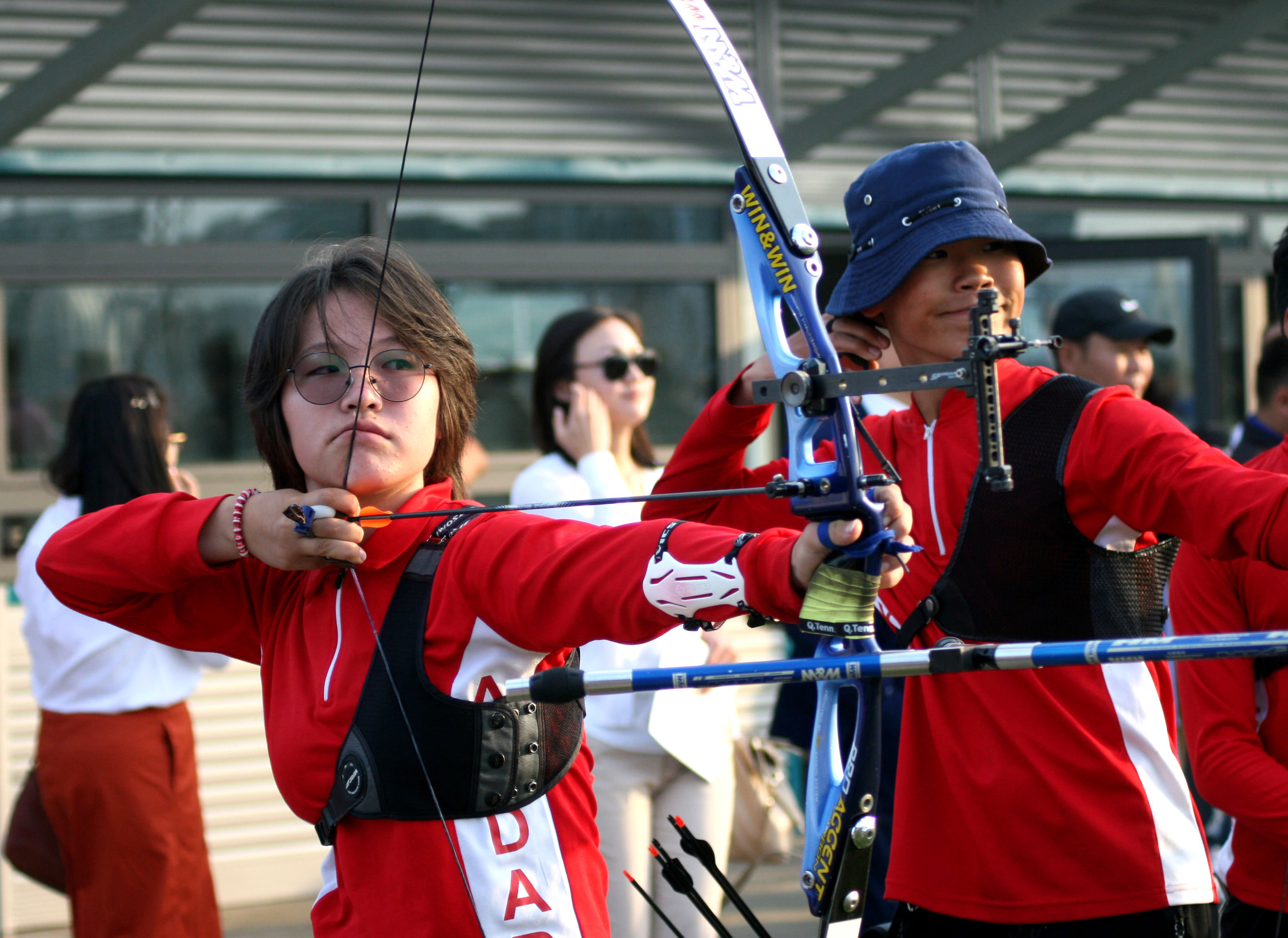 Target archery range opens with crowdfunding